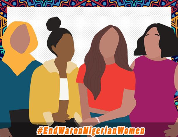 #EndWaronNigerianWomen - Tile (610x470)