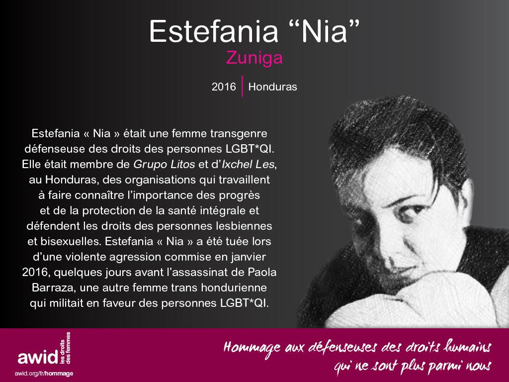 """Estefania """"Nia"""" Zuniga (FR)"""