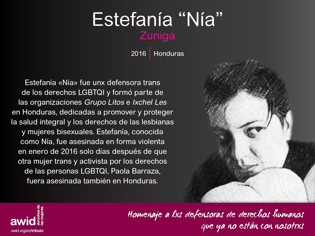 """Estefania """"Nia"""" Zuniga (SP)"""