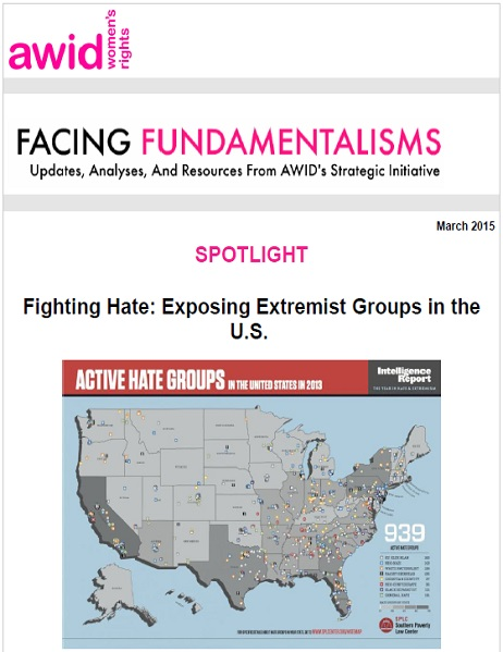Facing fundamentalisms - March 2015