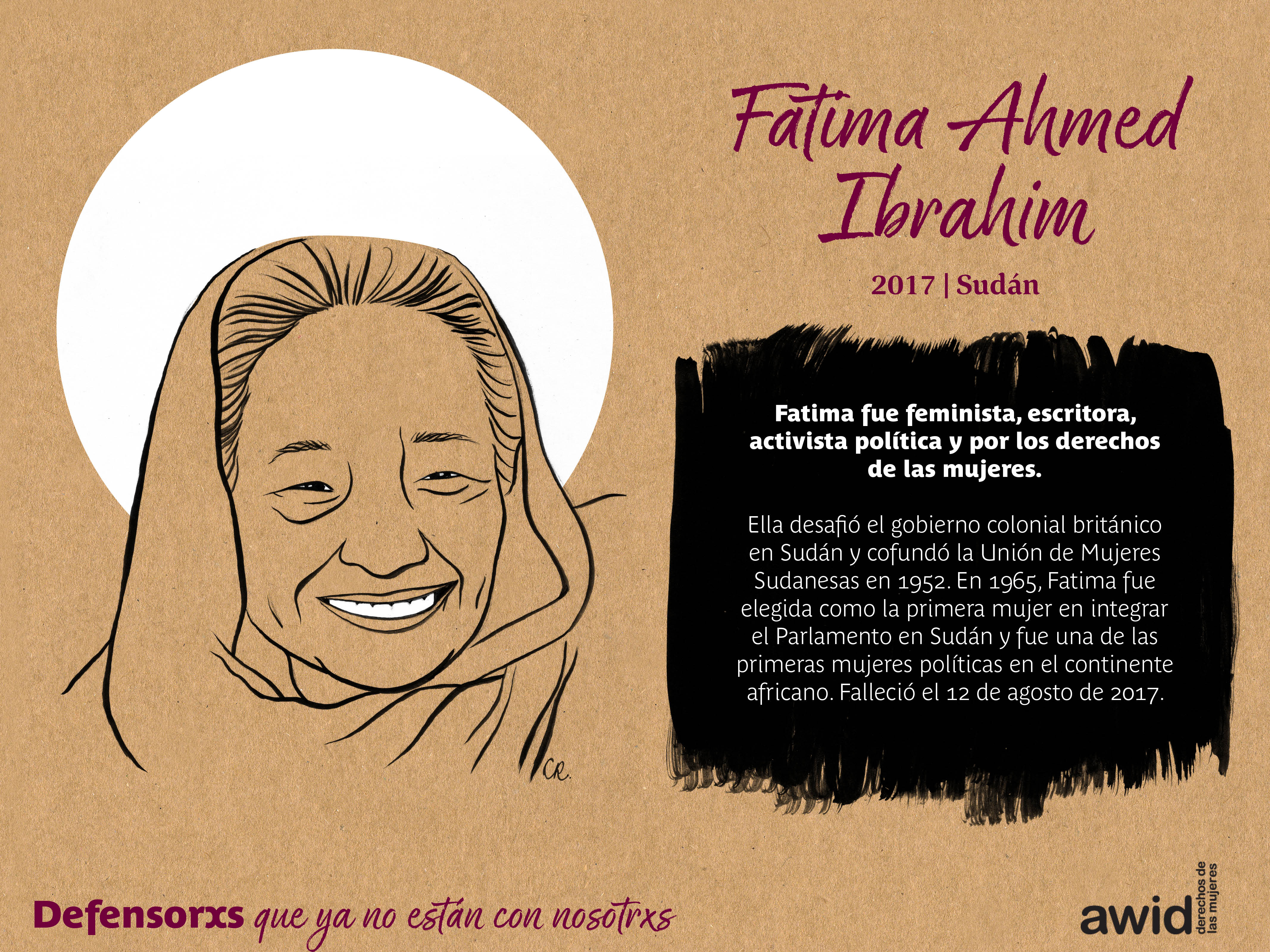 Fatima Ahmed Ibrahim (SP)