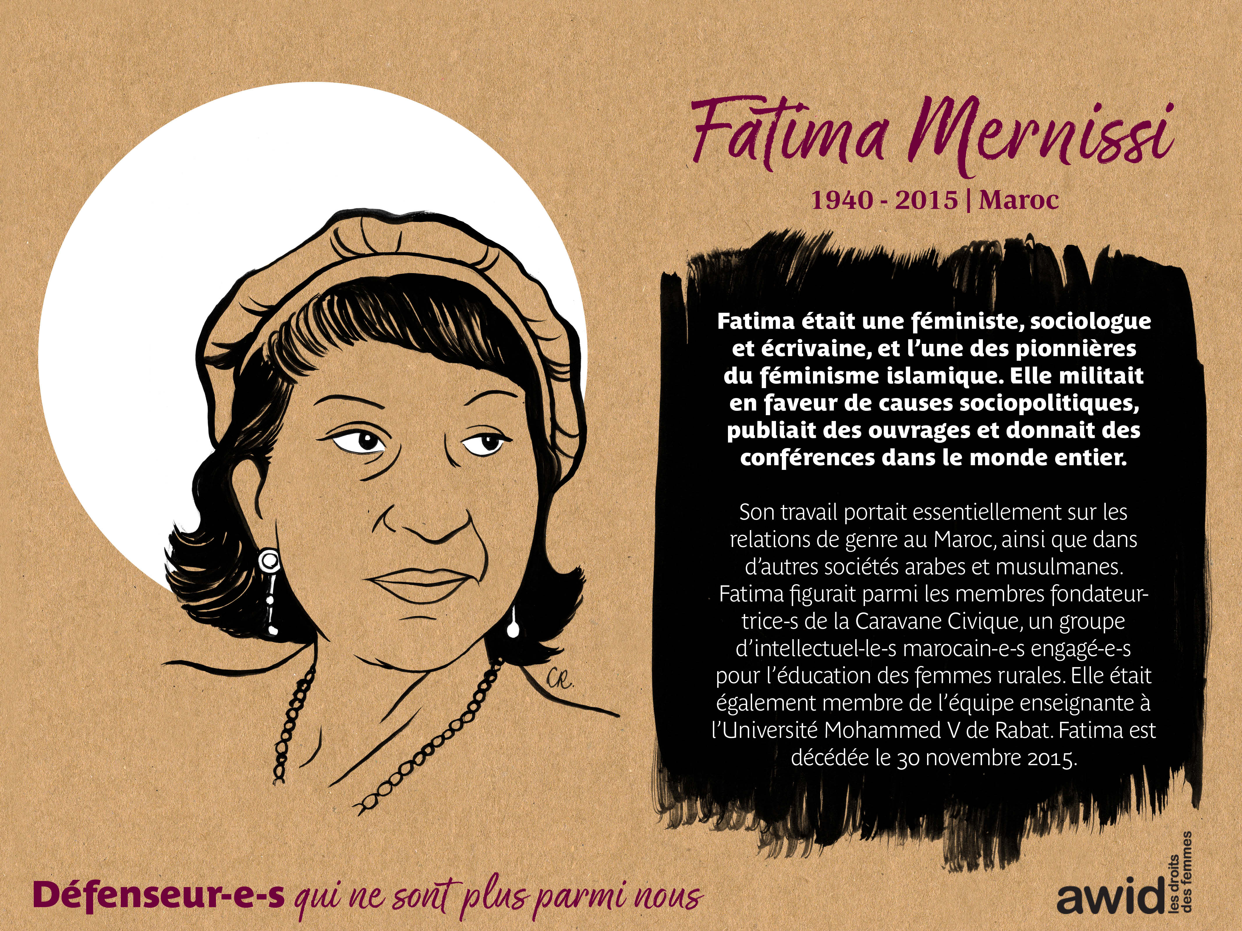 Fatima Mernissi (FR)