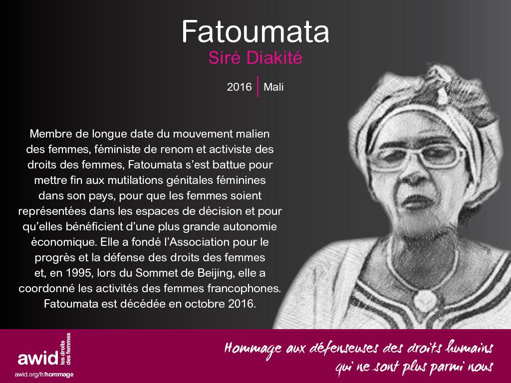 Fatoumata Siré Diakité (FR)
