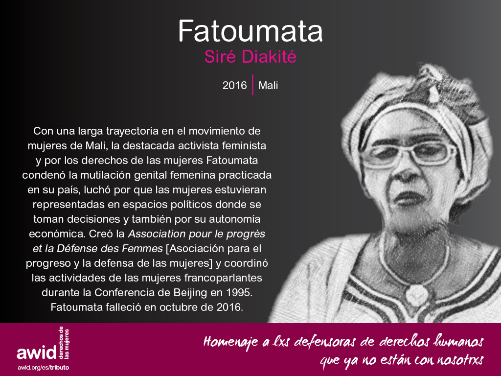 Fatoumata Siré Diakité (SP)