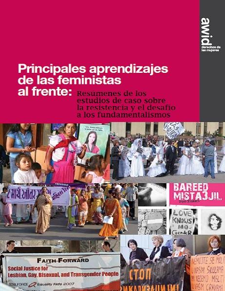 Feministas al frente
