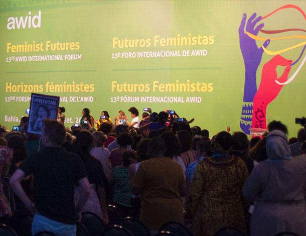 Co-creating Feminist Futures - AWID Forum 2016 - Plenary 1 (photo: Cécile Pillon-Hue) - 610x470