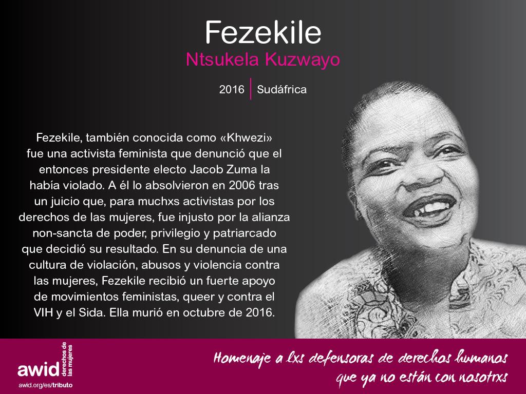 Fezekile Ntsukela Kuzwayo (SP)