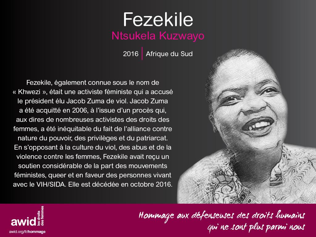 Fezekile Ntsukela Kuzwayo (FR)