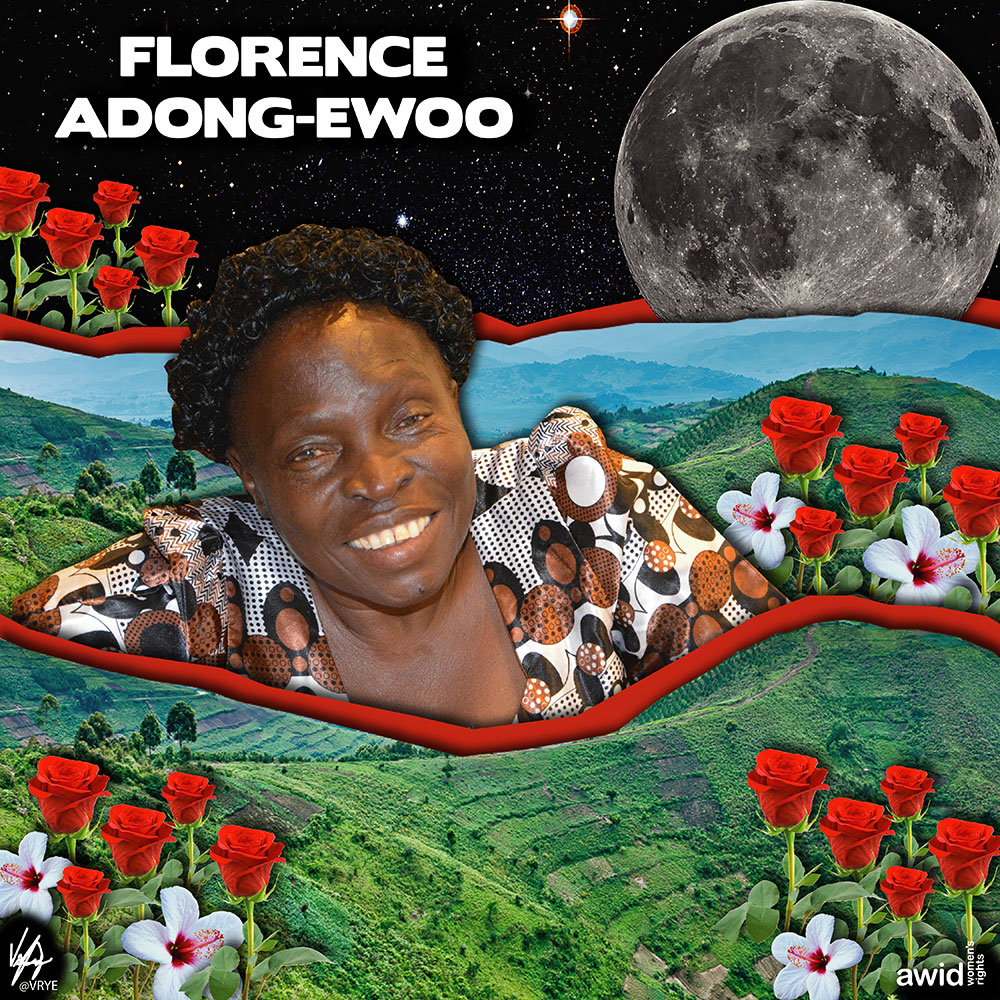 "<strong>Florence </strong>was a disability rights activist who worked with several disabled women's organizations in Uganda.<br /><a href=""https://www.awid.org/whrd/florence-adong-ewoo"" title=""WHRD: Florence Adong-Ewoo"">Read more &gt;</a>&nbsp;"