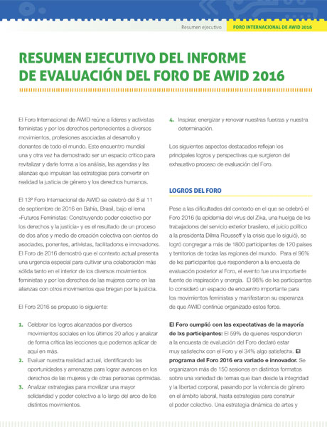 Forum Evaluation - Executive Summary SP (cover) - 460x600