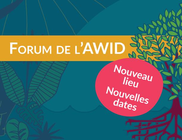 Forum location announcement - Web tile French