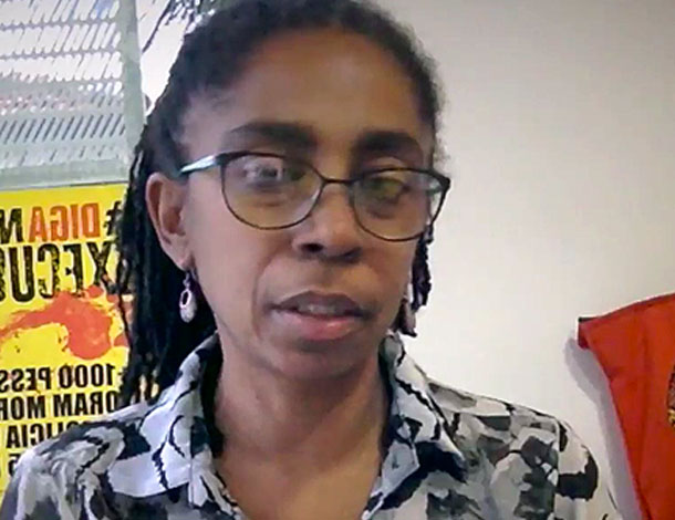 Forum Solidarity Campaign -  Jurema Werneck, Medical Doctor and Technical Coordinator at Criola.  (610x470)