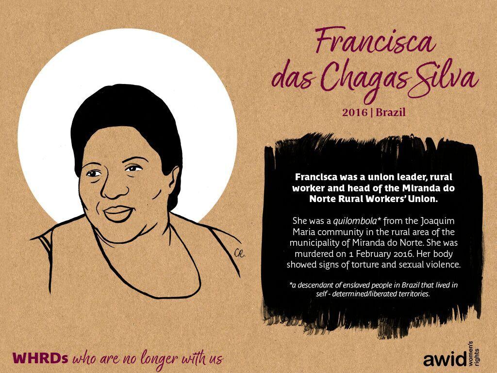 Francisca das Chagas Silva (EN)
