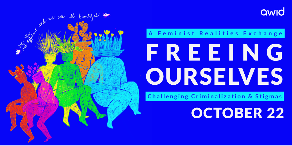Curated conversation - Freeing ourselves ENGLISH - artwork banner