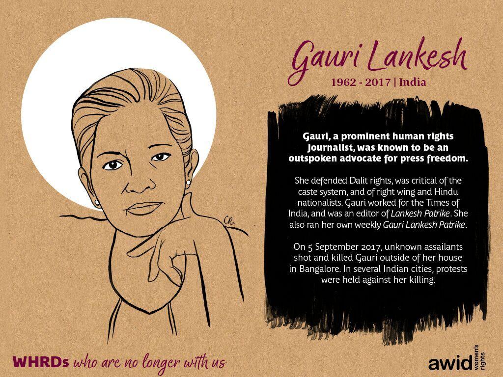 Gauri Lankesh (EN)