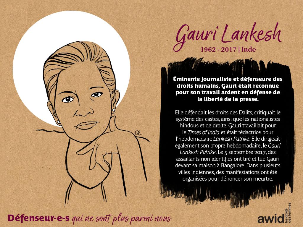 Gauri Lankesh (FR)
