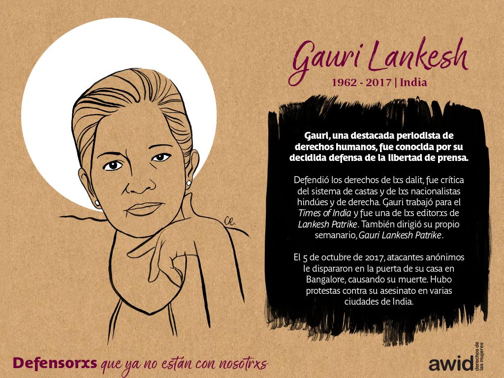 Gauri Lankesh (SP)