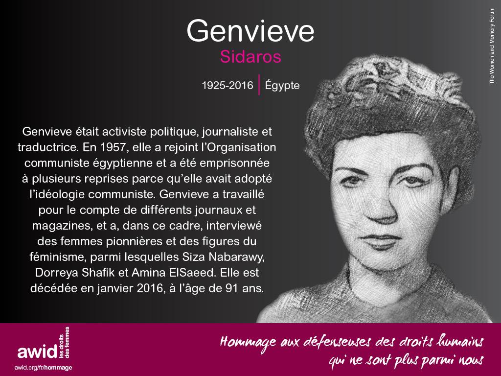 Genvieve Sidaros (FR)
