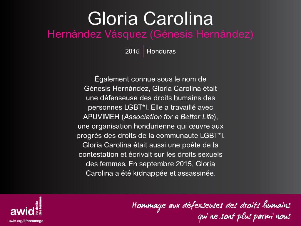 Gloria Carolina Hernández Vásquez (FR)