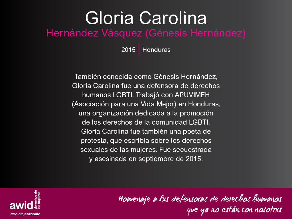 Gloria Carolina Hernández Vásquez (SP)
