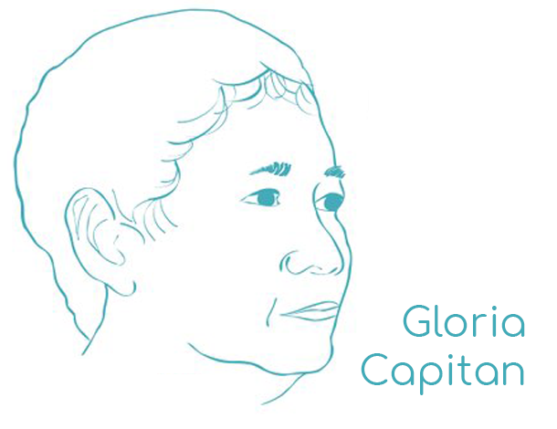 Gloria Capitan - blue outline (WikiWomen campaign) 610x470