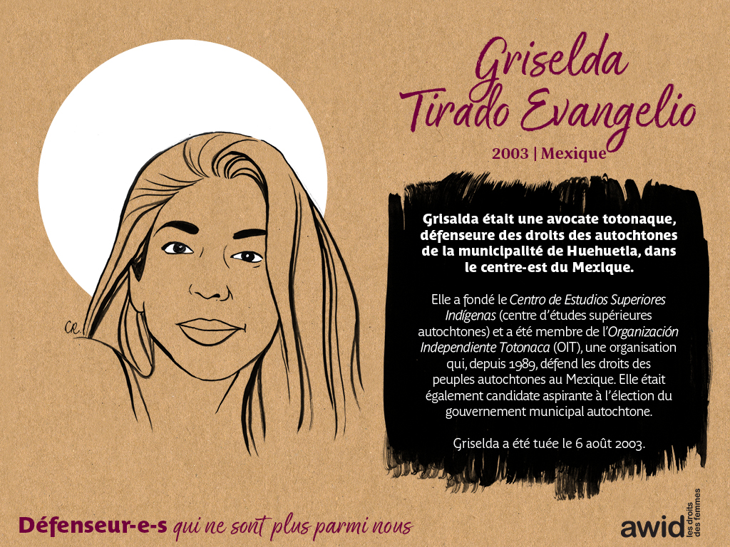 Griselda Tirado Evangelio (FR)