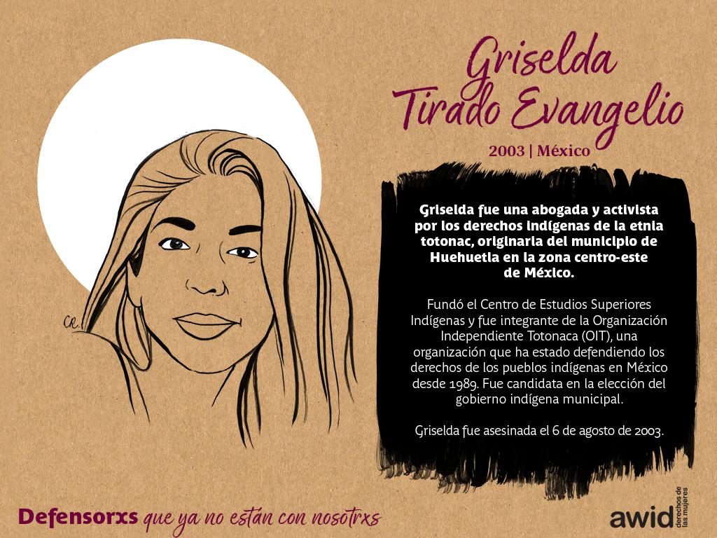 Griselda Tirado Evangelio (SP)