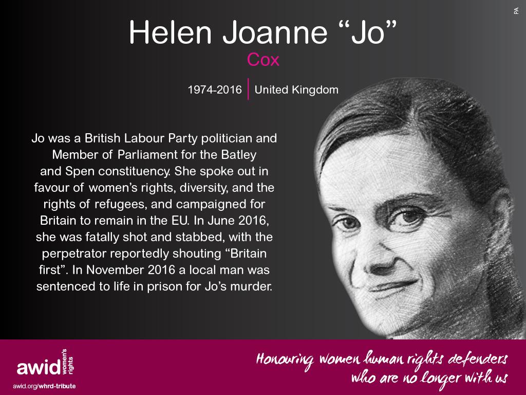 """Helen Joanne """"Jo"""" Cox (EN)"""