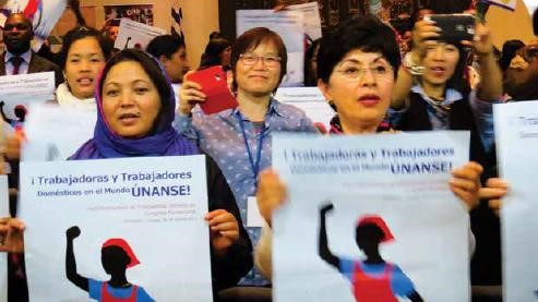 International Domestic Workers Federation (Source: IDWF Tumblr)