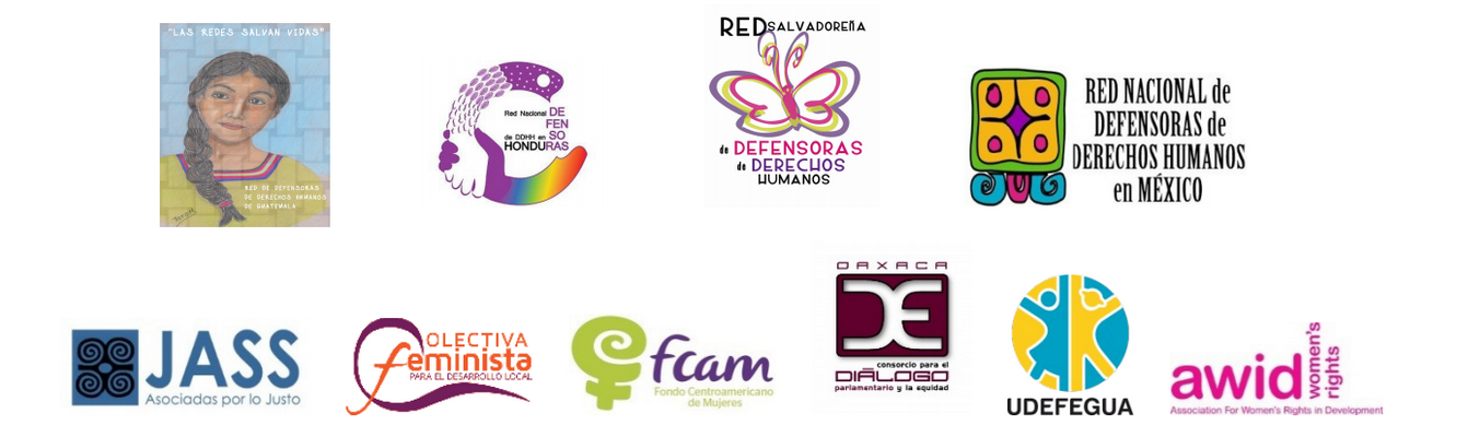 IM Defensoras - organization logos