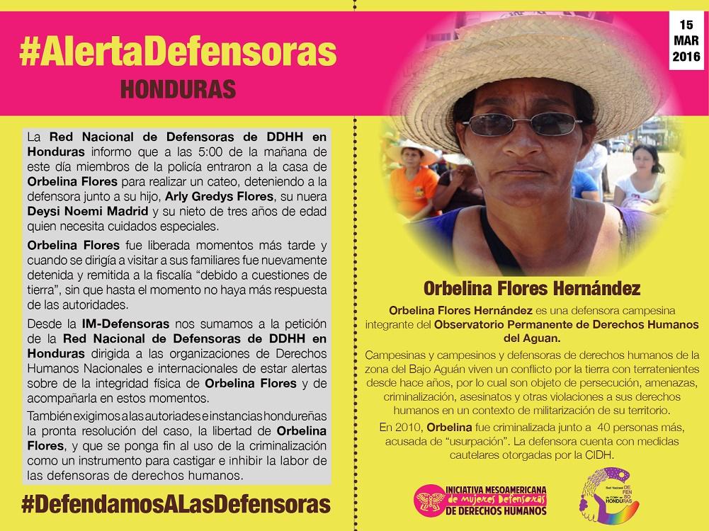 IM-Defensoras WHRD Orbelina - Spanish