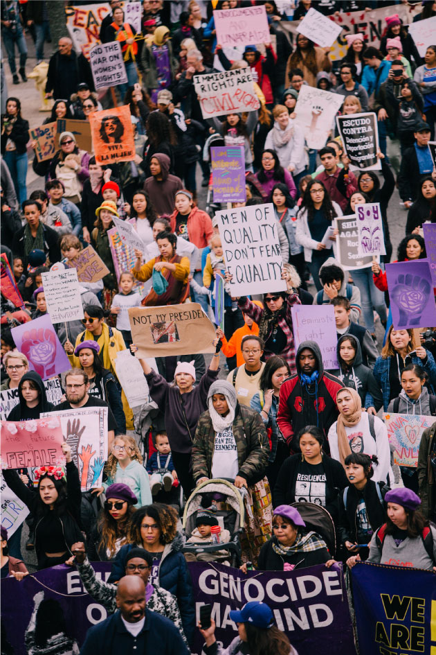 International Women's Day March  Los Angeles 3/5/17 - Flickr Molly Adams