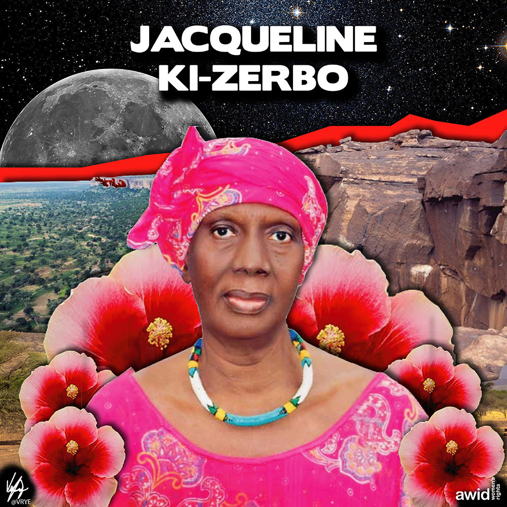 "<strong>Jacqueline </strong>was a pioneering Malian/ Burkinabe feminist, nationalist and educator.<br /><a href=""https://www.awid.org/whrd/jacqueline-coulibaly-ki-zerbo"" title=""WHRD Jacqueline Coulibaly Ki-Zerbo"">Read more &gt;</a>&nbsp;"