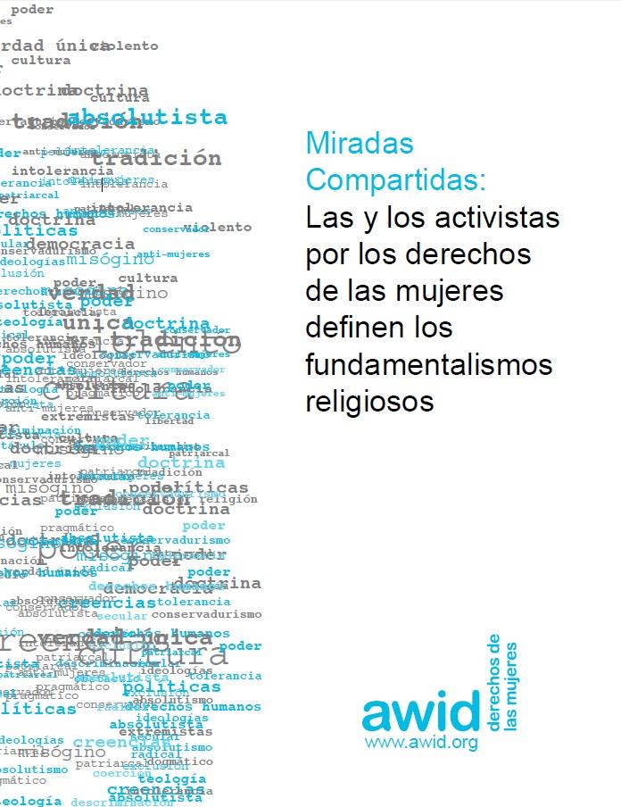Las activistas definen los fundamentalismos religiosos