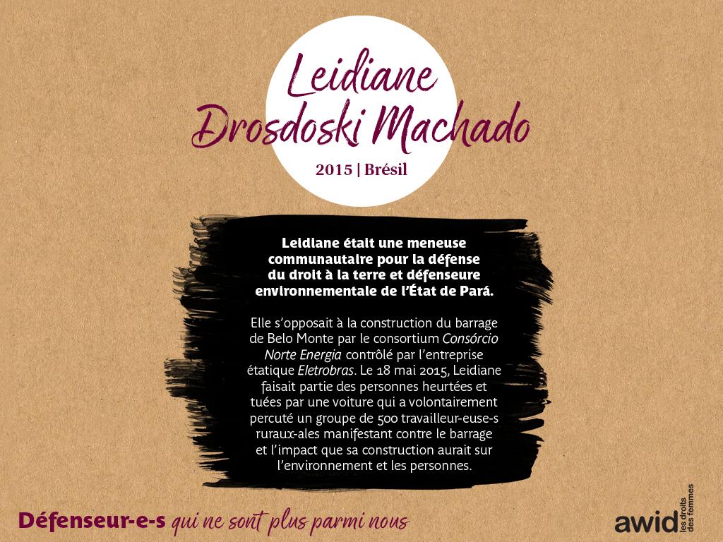 Leidiane Drosdoski Machado (FR)