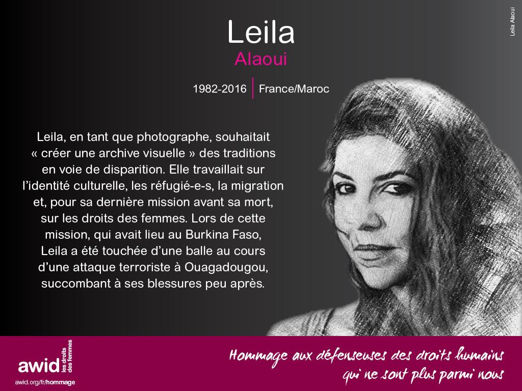 Leila Alaoui (FR)