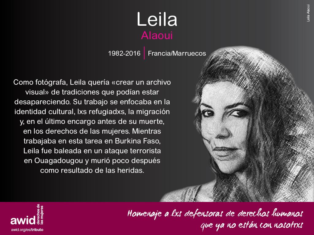 Leila Alaoui (SP)