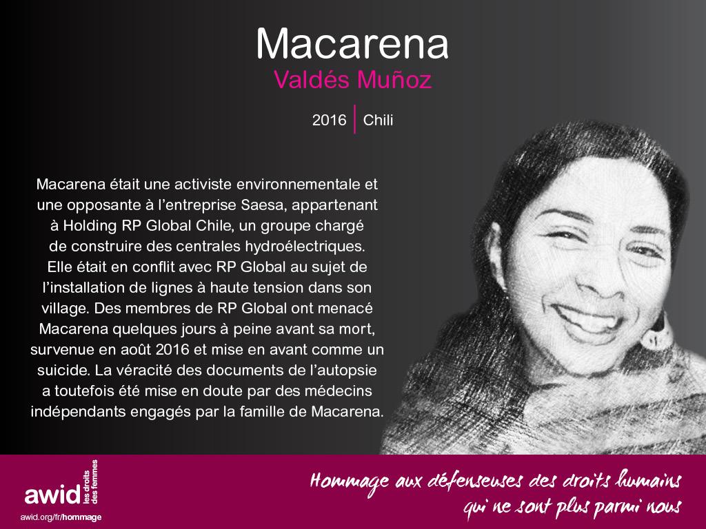 Macarena Valdés Muñoz (FR)