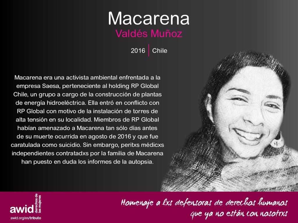 Macarena Valdés Muñoz (SP)