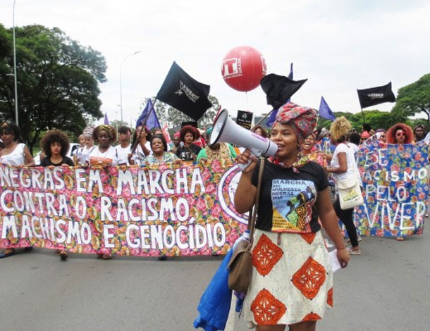 March of Black Women - by Maggie Hazvinei Mapondera (610x470)