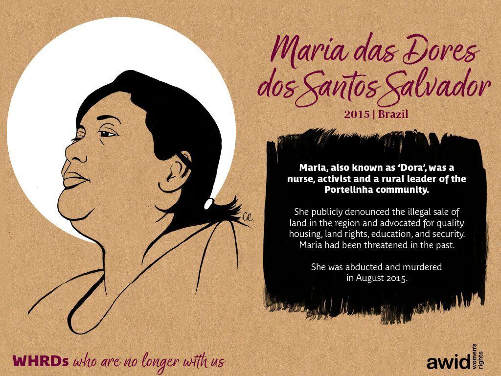 Maria das Dores dos Santos Salvador (EN)