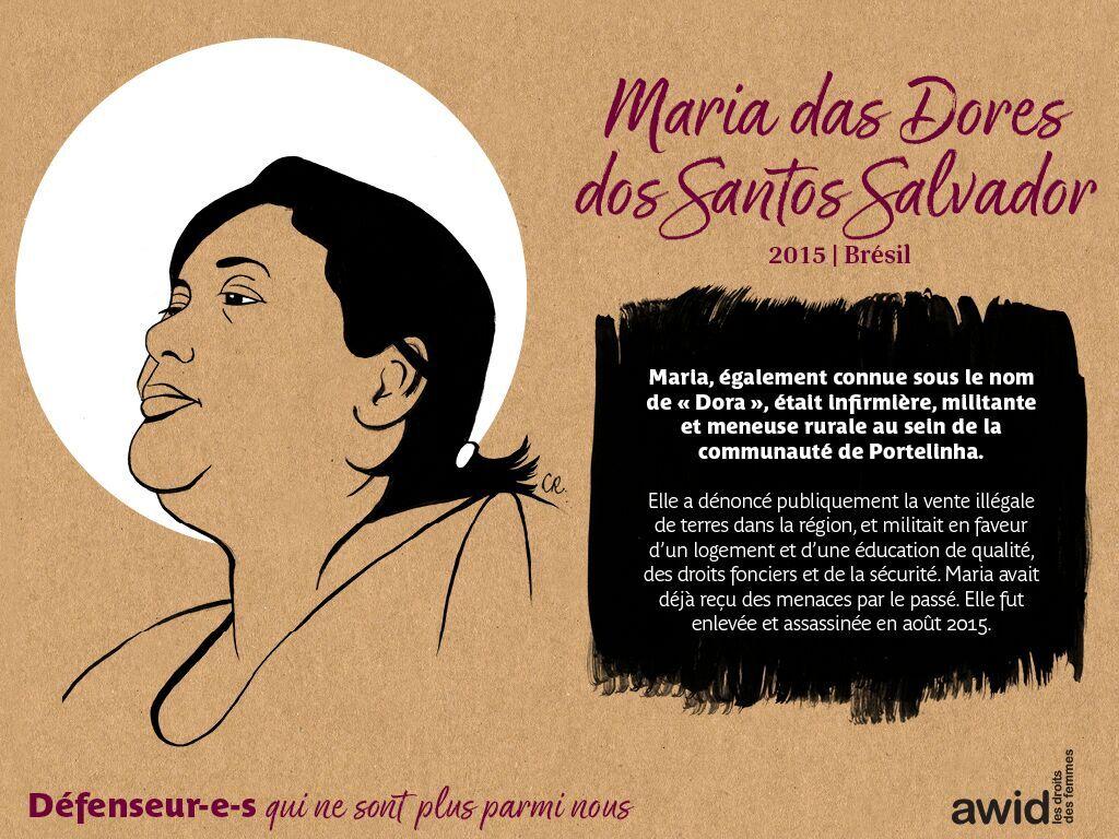 Maria das Dores dos Santos Salvador  (FR)