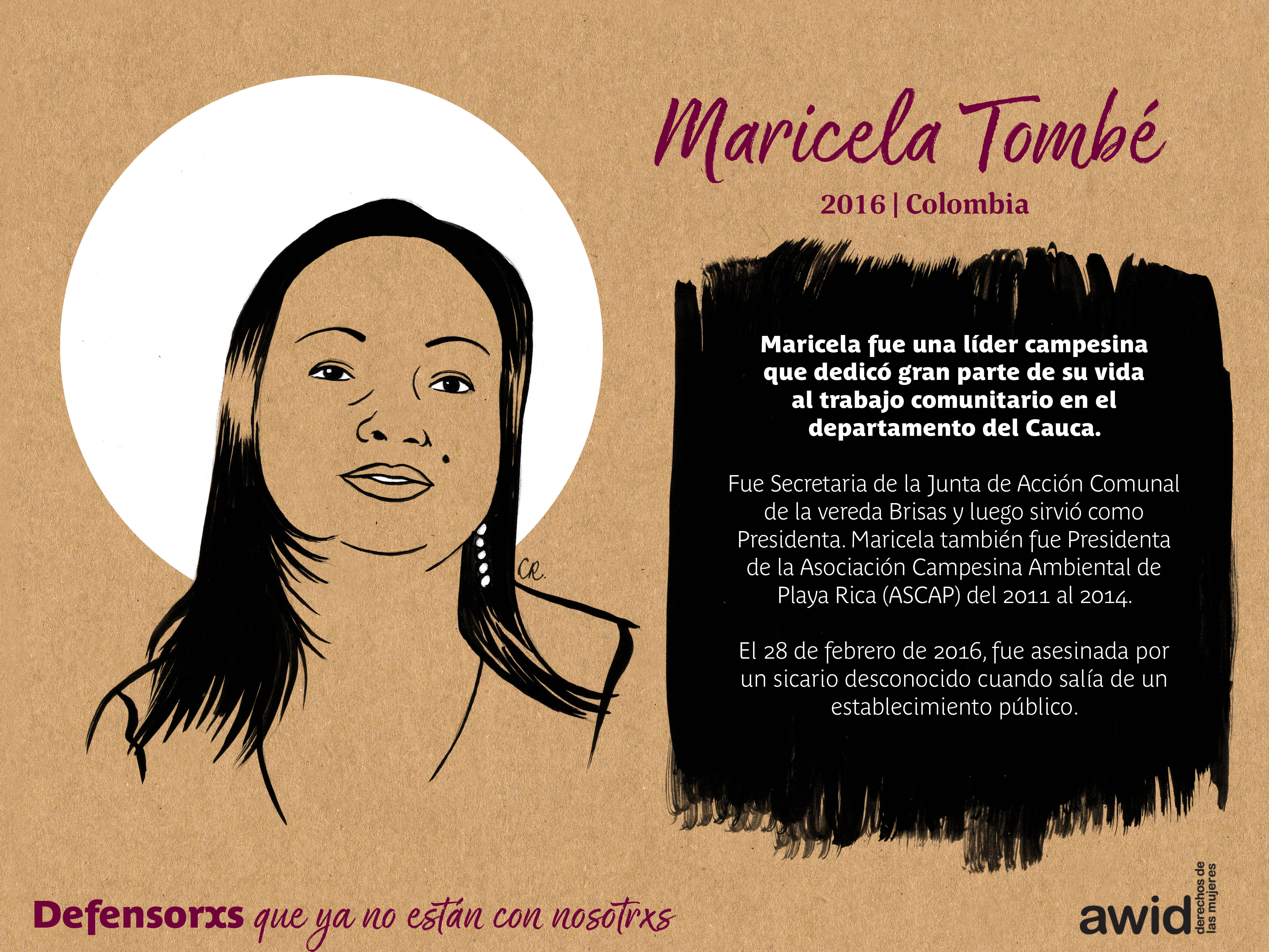 Maricela Tombe (SP)