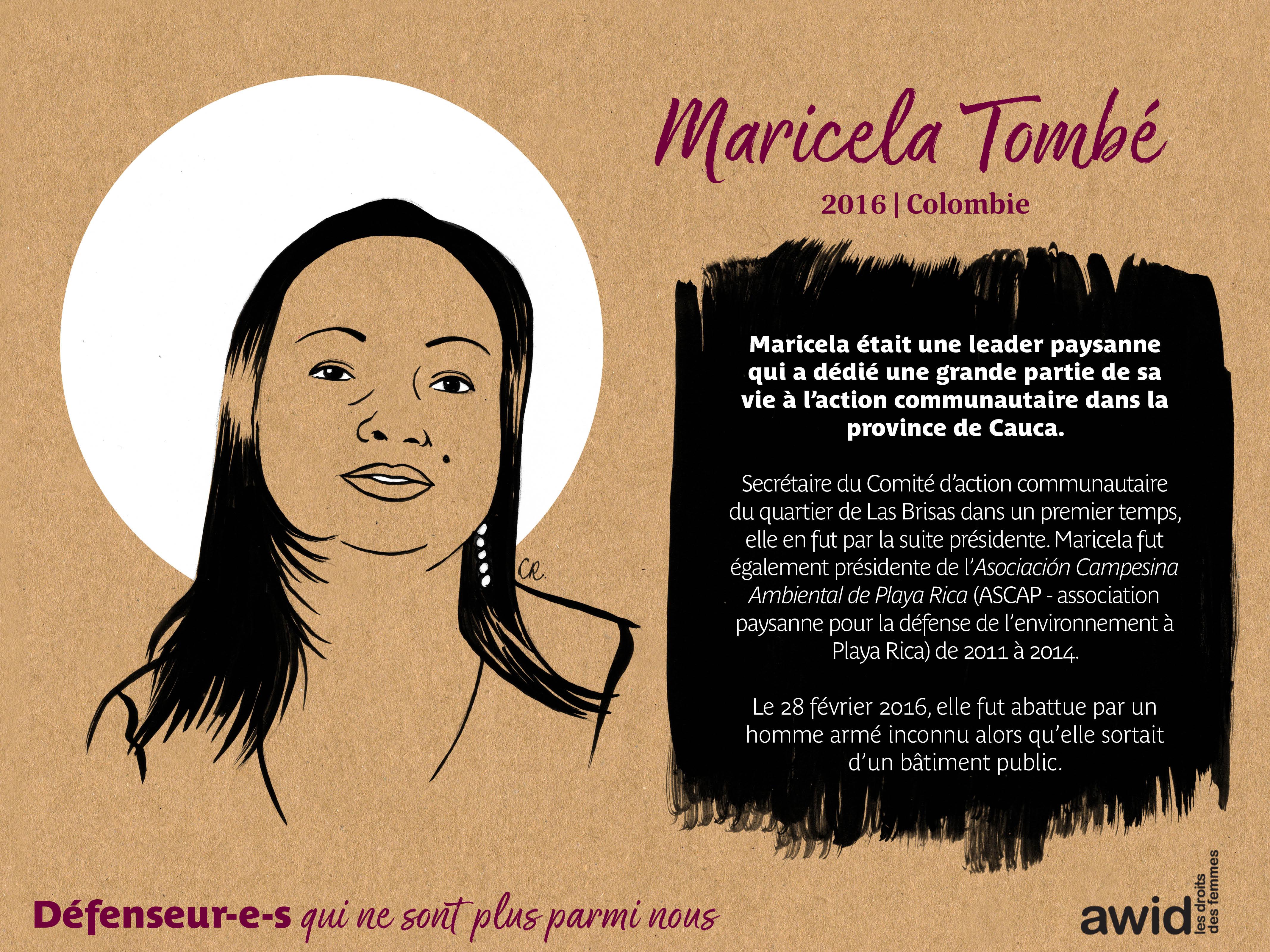 Maricela Tombé (FR)