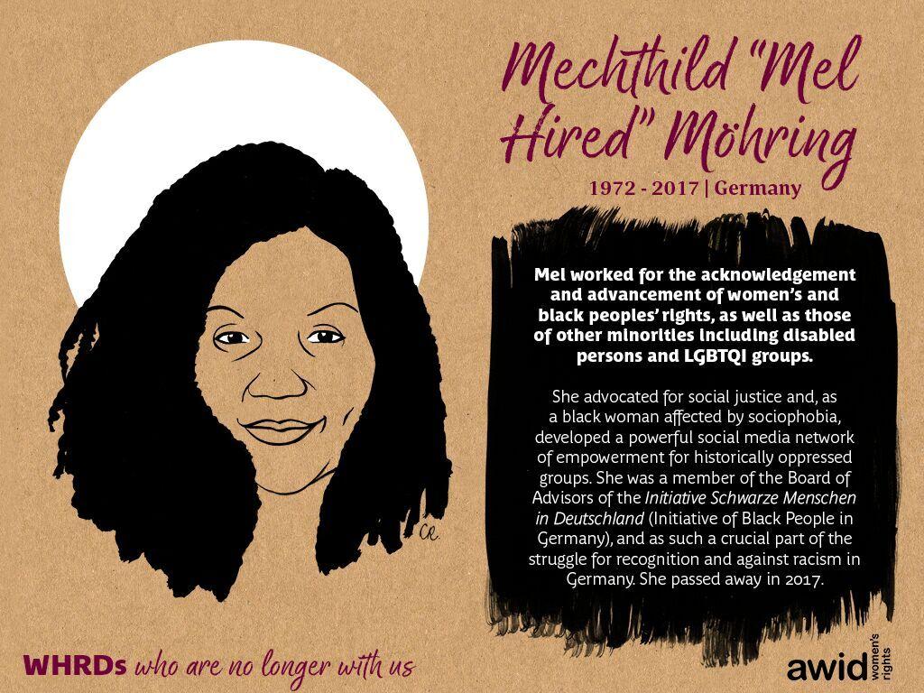 """Mechthild """"Mel Hired"""" Möhring"""