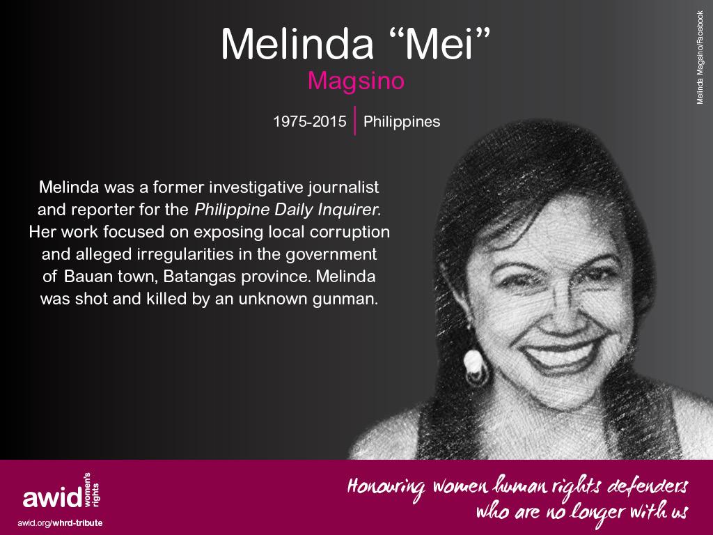 """Melinda """"Mei"""" Magsino (EN)"""