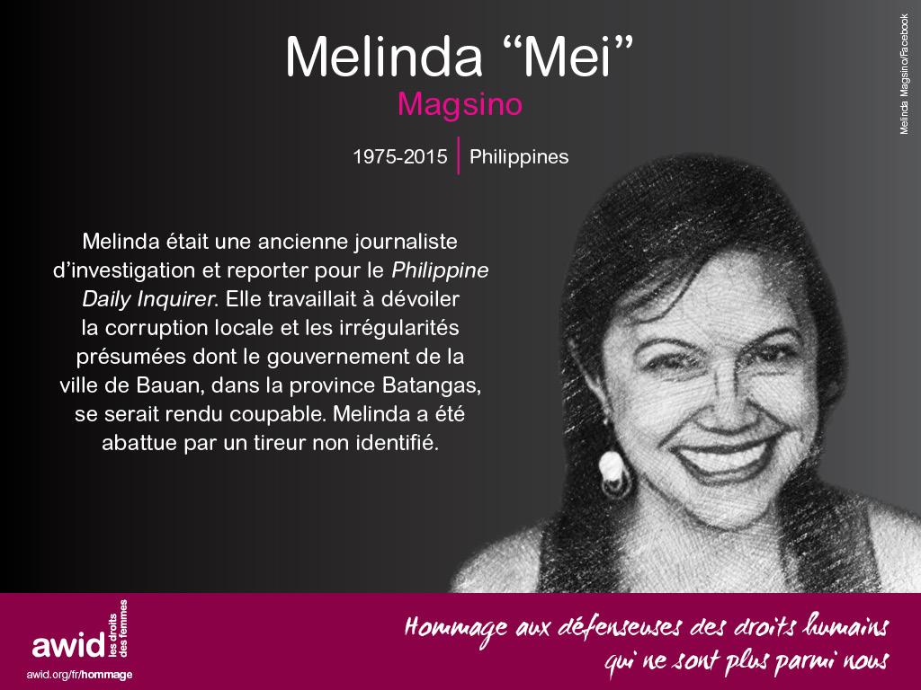 """Melinda """"Mei"""" Magsino (FR)"""