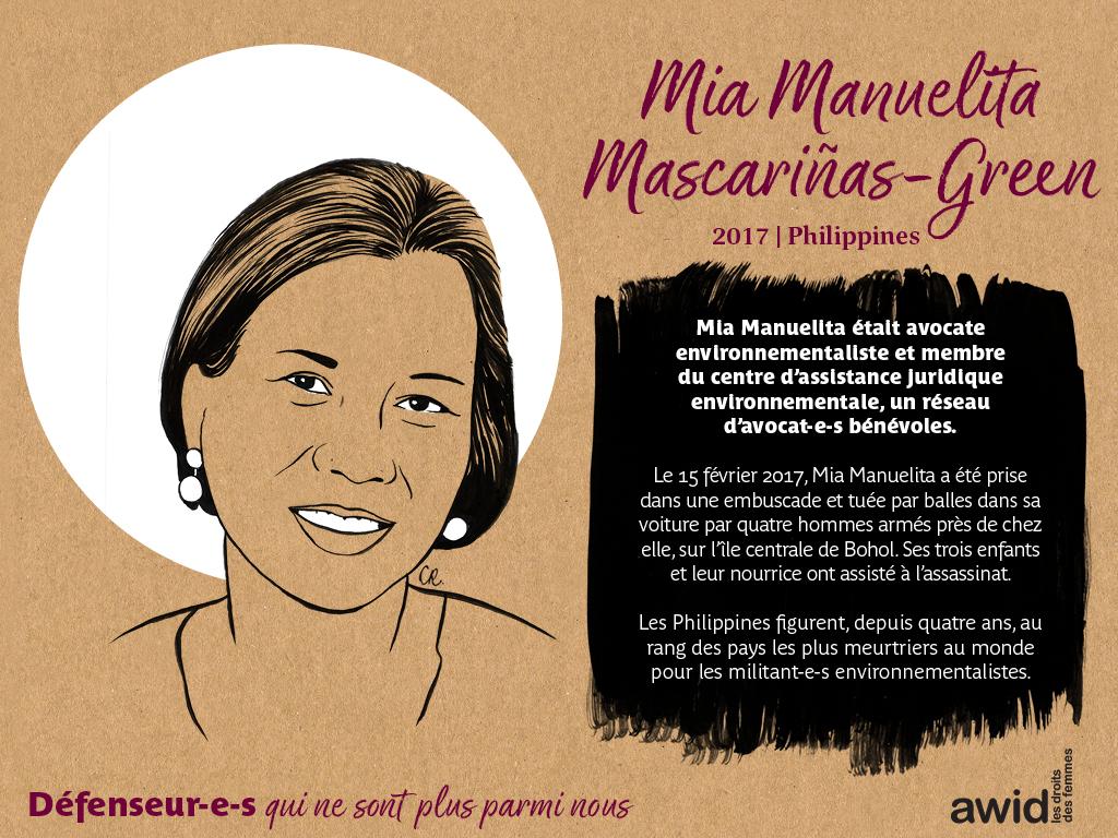 Mia Manuelita Mascariñas-Green (FR)