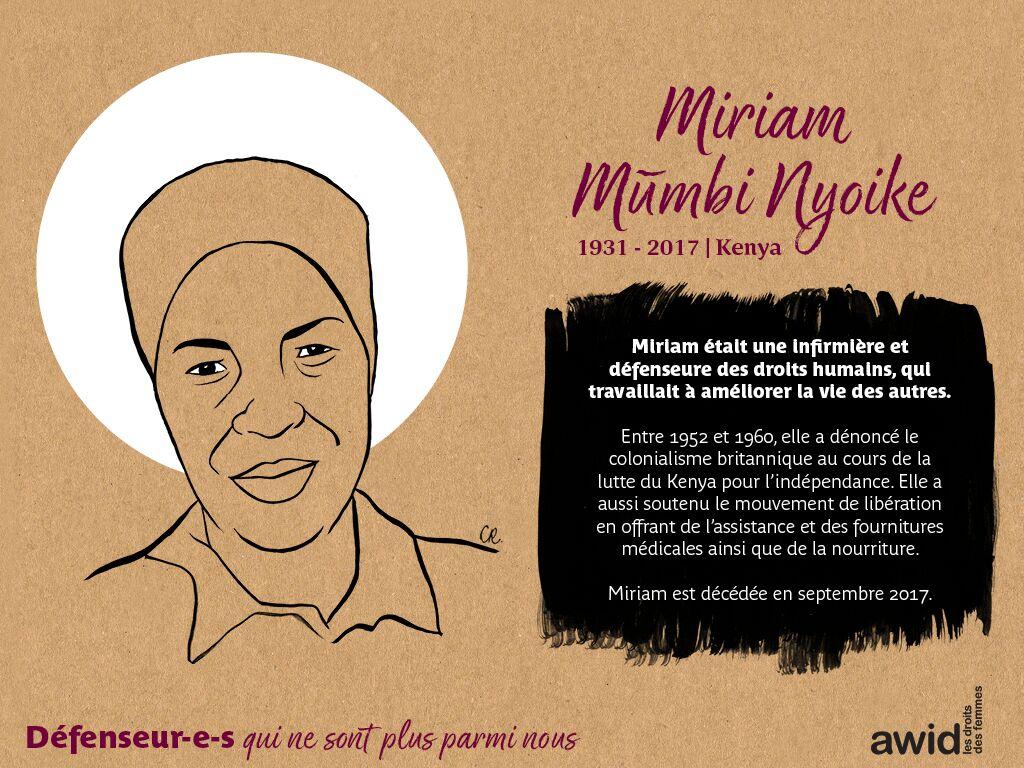 Miriam Mũmbi Nyoke (FR)