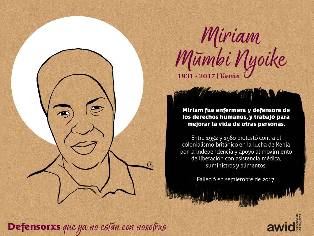 Miriam Mũmbi Nyoke (SP)